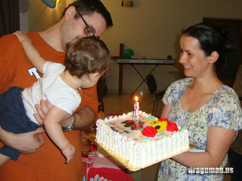 Andrei turns 1!